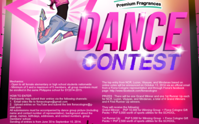 Fiona Cologne Dance Contest
